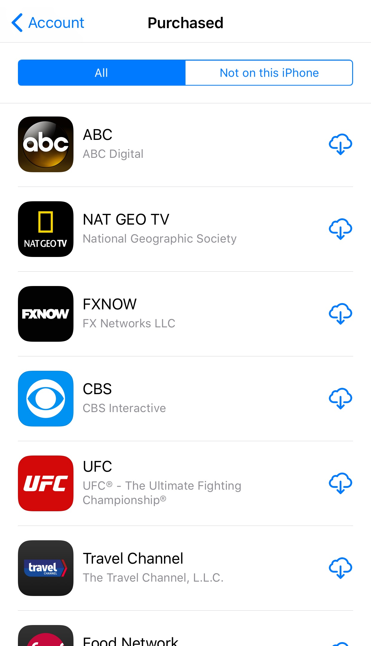 How to see all downloaded apps on iphone